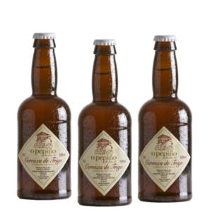Pack de 3 cervezas artesanas O Pepiño de 33 cl, para hacer momentos únicos