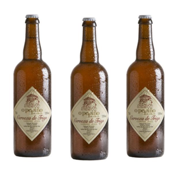 Pack de 3 cervezas artesanas O Pepiño de 75 cl, para hacer momentos únicos