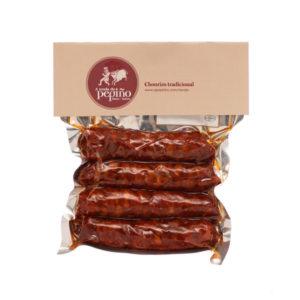 Chorizo Tradicional gallego O Pepiño envasado al vacío