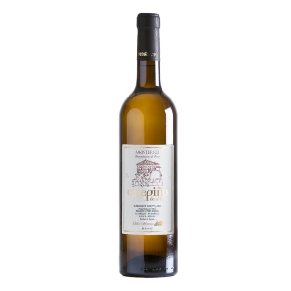 Disfruta de la botella de vino godello O Pepiño con quien tu quieras