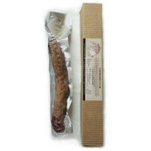 Salchichón cular O Pepiño envasado al vacío, fresco y elbarado con materia prima gallega
